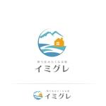 glpgs-lanceさんの旅行客と地元民が友達になれる旅館「イミグレ」のロゴへの提案