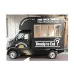 happywaveさんのキッチンカーの外装デザインを「正面、右側面、左側面、後ろ面」データ作成のご依頼への提案