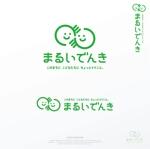BlueGreen_design_incさんの地域新電力「まるいでんき」のロゴへの提案