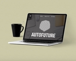 平和オートグループ新会社「AutoFuture」のロゴへの提案