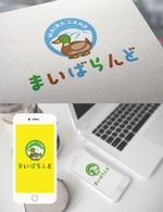 m_mtbooksさんのウェブサイト「まいばらんど」のロゴへの提案