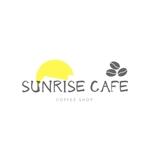 「SUNRISE CAFE」のロゴへの提案