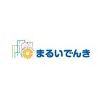 k_pressさんの地域新電力「まるいでんき」のロゴへの提案