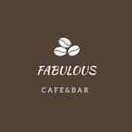 Cafe&Bar「Fabulous」のロゴへの提案