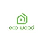 calimboさんの建売住宅「エコウッド(ecowood)」のロゴの仕事への提案