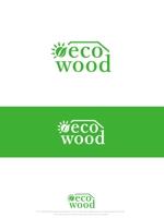 mahou-photさんの建売住宅「エコウッド(ecowood)」のロゴの仕事への提案