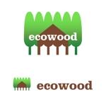 MacMagicianさんの建売住宅「エコウッド(ecowood)」のロゴの仕事への提案
