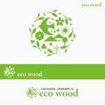 Morinohitoさんの建売住宅「エコウッド(ecowood)」のロゴの仕事への提案