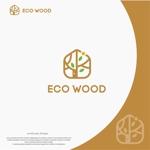 landscapeさんの建売住宅「エコウッド(ecowood)」のロゴの仕事への提案