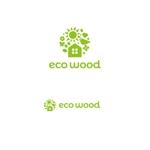 K-digitalsさんの建売住宅「エコウッド(ecowood)」のロゴの仕事への提案