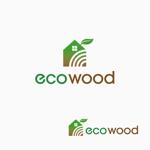atomgraさんの建売住宅「エコウッド(ecowood)」のロゴの仕事への提案