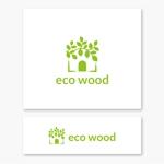 VEROさんの建売住宅「エコウッド(ecowood)」のロゴの仕事への提案