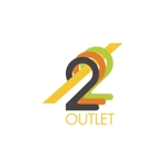 ldz530607さんのアウトレット商品を販売する店舗「222」のロゴへの提案