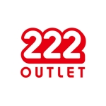 komotoさんのアウトレット商品を販売する店舗「222」のロゴへの提案