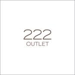 queuecatさんのアウトレット商品を販売する店舗「222」のロゴへの提案