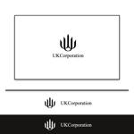 不動産、ホテル運営会社「株式会社UKCorporation」のロゴ作成への提案