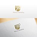 REVELAさんのマーケティング会社:プラチナマーケティングロゴ【名刺等】への提案