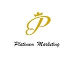 haruka0115322さんのマーケティング会社:プラチナマーケティングロゴ【名刺等】への提案