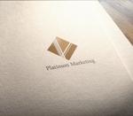 NJONESさんのマーケティング会社:プラチナマーケティングロゴ【名刺等】への提案