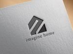 hayate_designさんの住宅建築会社「イマジンホーム」のロゴへの提案