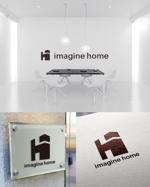 utamaruさんの住宅建築会社「イマジンホーム」のロゴへの提案