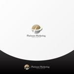 ter4493さんのマーケティング会社:プラチナマーケティングロゴ【名刺等】への提案