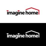 j-designさんの住宅建築会社「イマジンホーム」のロゴへの提案