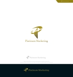 Cobalt_B1ueさんのマーケティング会社:プラチナマーケティングロゴ【名刺等】への提案