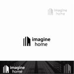 chihoさんの住宅建築会社「イマジンホーム」のロゴへの提案