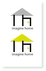 mi-ya11さんの住宅建築会社「イマジンホーム」のロゴへの提案