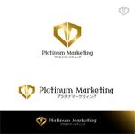 ys-design_2017さんのマーケティング会社:プラチナマーケティングロゴ【名刺等】への提案