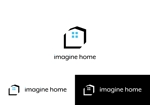 Nakamura__さんの住宅建築会社「イマジンホーム」のロゴへの提案