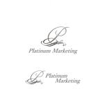 saki8さんのマーケティング会社:プラチナマーケティングロゴ【名刺等】への提案