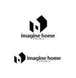 horieyutaka1さんの住宅建築会社「イマジンホーム」のロゴへの提案