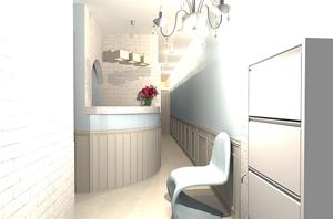 sato2013さんの新装オープンするメディカルボディエステサロンの内装デザイン&パース図の募集への提案
