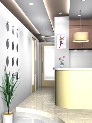naoki-kusanoさんの新装オープンするメディカルボディエステサロンの内装デザイン&パース図の募集への提案