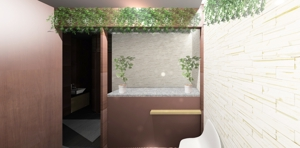 3DarchitectSさんの新装オープンするメディカルボディエステサロンの内装デザイン&パース図の募集への提案