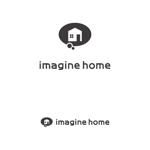 dot-impactさんの住宅建築会社「イマジンホーム」のロゴへの提案