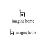 tn363さんの住宅建築会社「イマジンホーム」のロゴへの提案