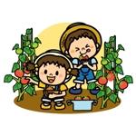 yumikuro8さんの幼児知育プリント用のイラストへの提案