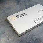 YIELDsさんのマーケティング会社:プラチナマーケティングロゴ【名刺等】への提案