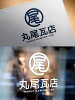 m_mtbooksさんの丸尾瓦店のロゴデザインへの提案