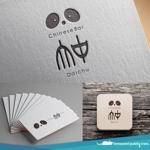 nekosuさんの中国のお茶、お酒、食べ物などを提供するチャイニーズバー「大中」のロゴへの提案