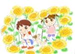 matsunekoさんの幼児知育プリント用のイラストへの提案