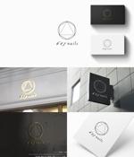 Futuraさんのネイルサロンのロゴデザインへの提案