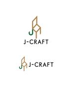 horieyutaka1さんのジェイクラフト J-CRAFT J-crt 屋号です。これをうまくロゴにしてほしいです。への提案