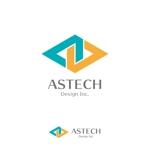 Juntaroさんの床施工会社「Astech Design Inc.」のロゴへの提案