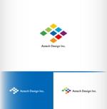 tkmth0103さんの床施工会社「Astech Design Inc.」のロゴへの提案