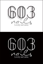 neon-taniさんのネイルサロンのロゴデザインへの提案