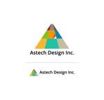 PYANさんの床施工会社「Astech Design Inc.」のロゴへの提案